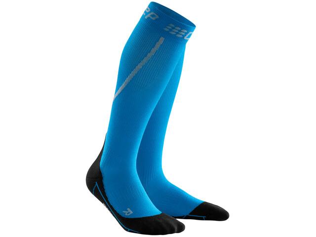 cep Winter Skarpetki do biegania Mężczyźni, electric blue/black